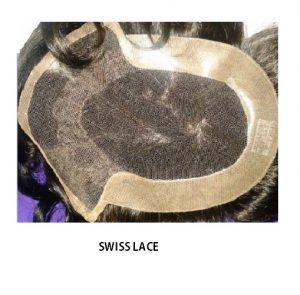 Swiss lace hair system
